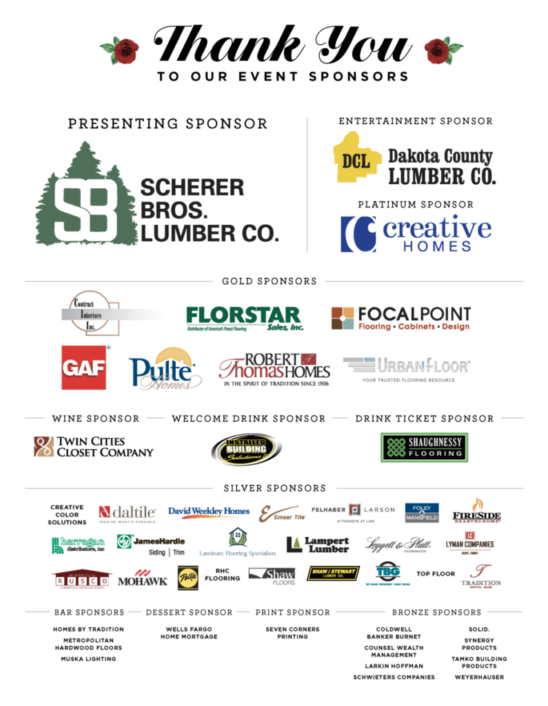 Foundation Gala Sponsors 2018