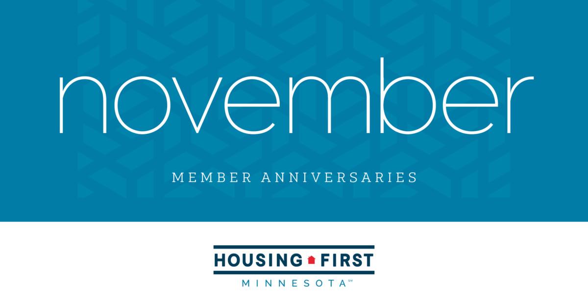Membership Anniversaries | November