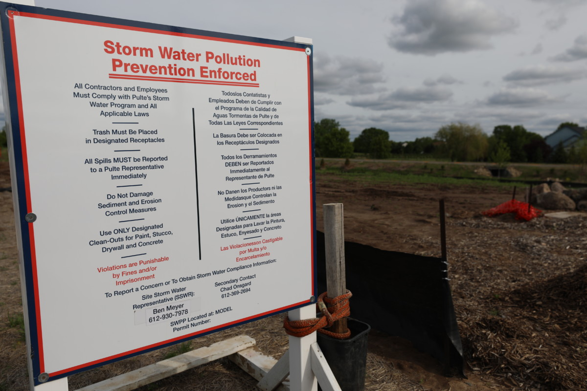 Stormwater Pollution Prevention Plan Updates Due February 1, 2020