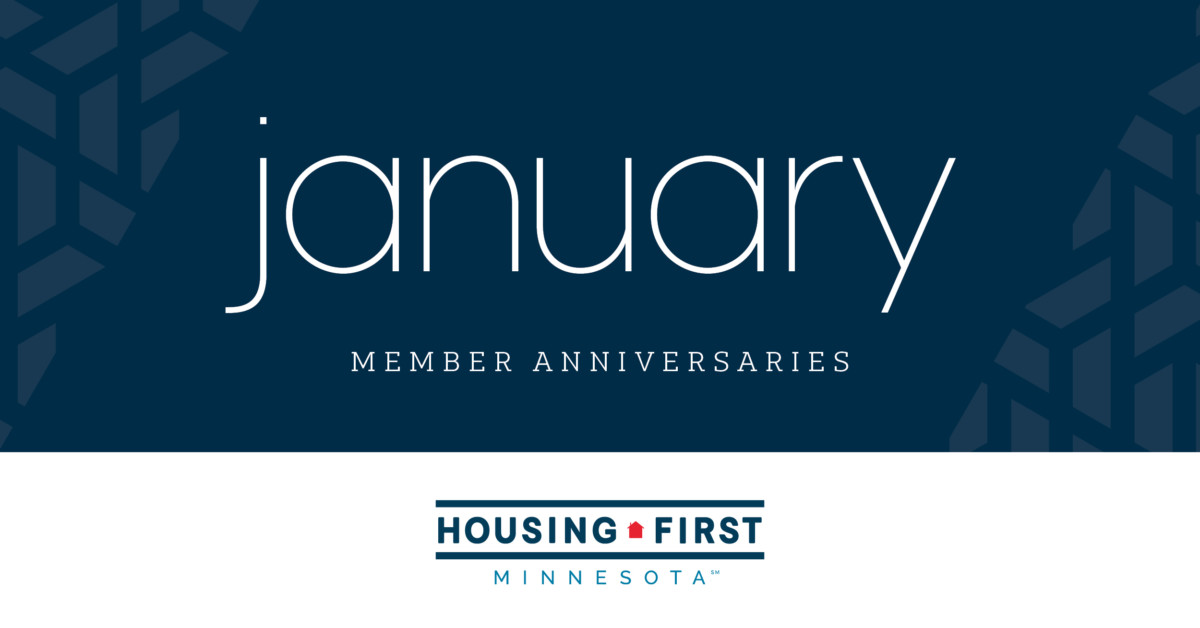 Membership Anniversaries | January 2020