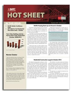 January Hot Sheet, Get it Here!