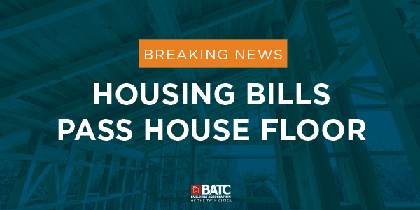Legislative Update: Housing Priorities Pass Minnesota House