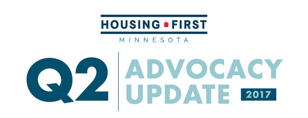 Q2 Advocacy Update, Housing First Minnesota