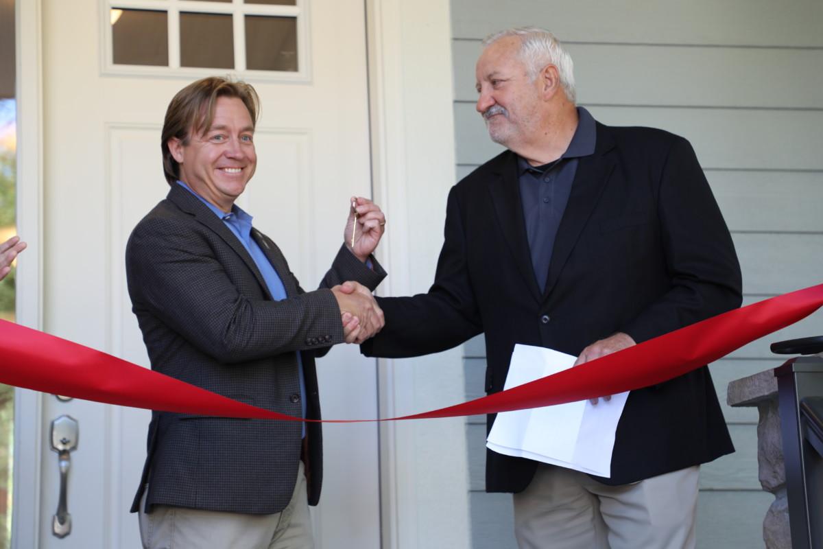 BATC Foundation & Lennar Hand Over Keys to MACV