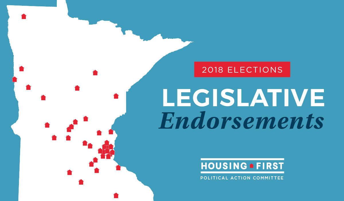 Housing First Minnesota PAC Endorses 49 Legislative Candidates
