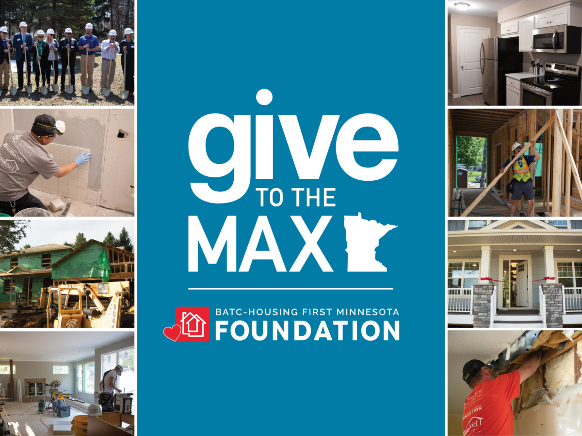 BATC-Housing First Minnesota Foundation Donors Give to the Max