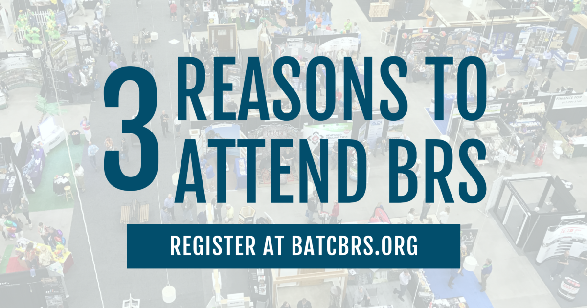 3 Reasons to Attend the Builders and Remodelers Show