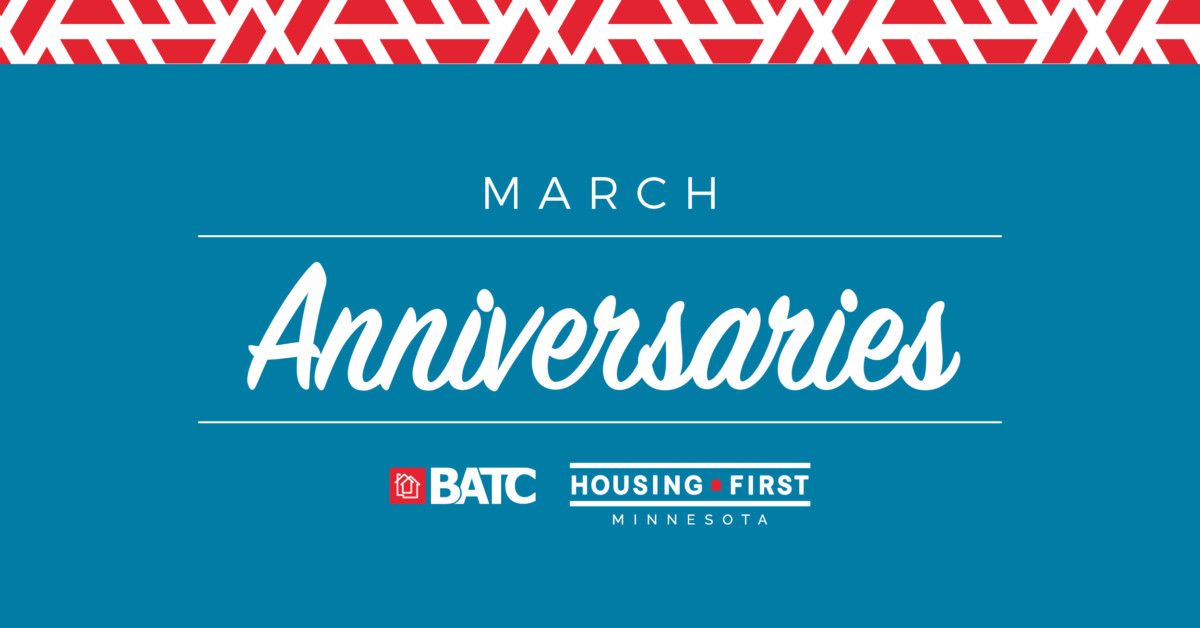 Membership Anniversaries | March
