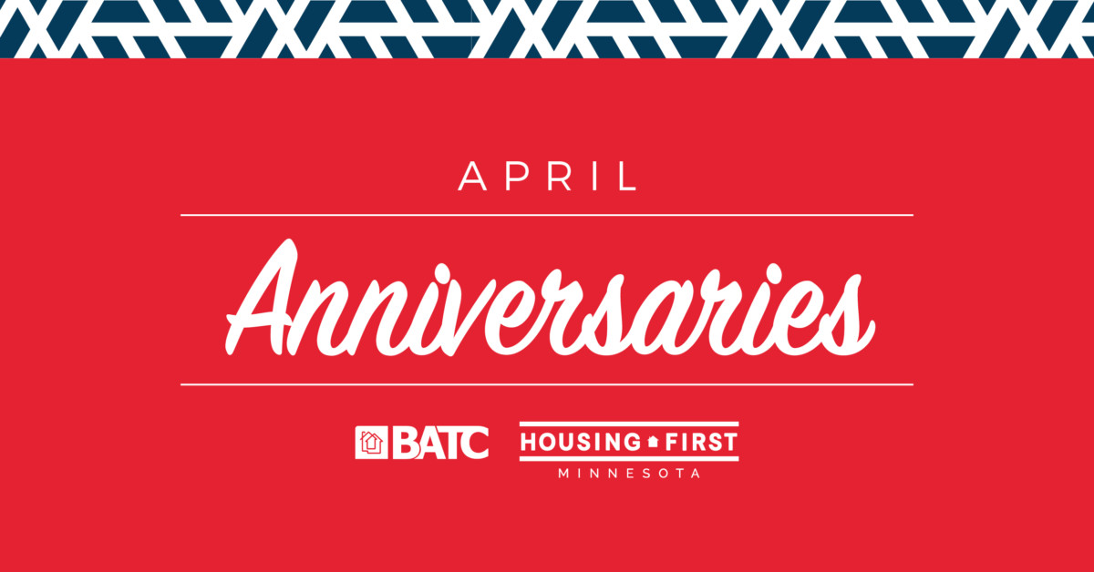 Membership Anniversaries | April