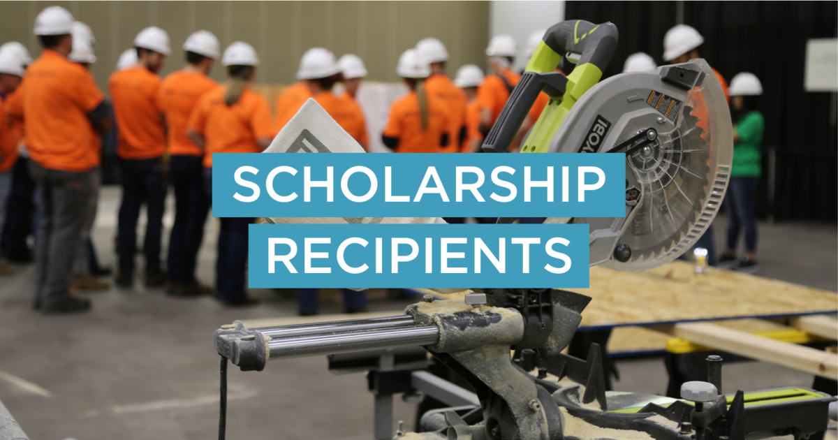 Announcing Our 2019 Scholarship Recipients
