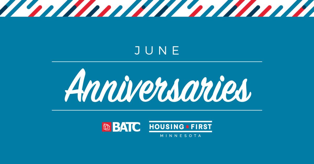 Membership Anniversaries | June