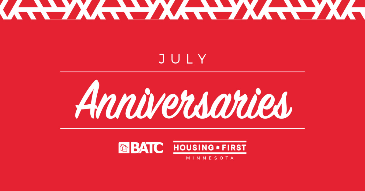 Membership Anniversaries |  July