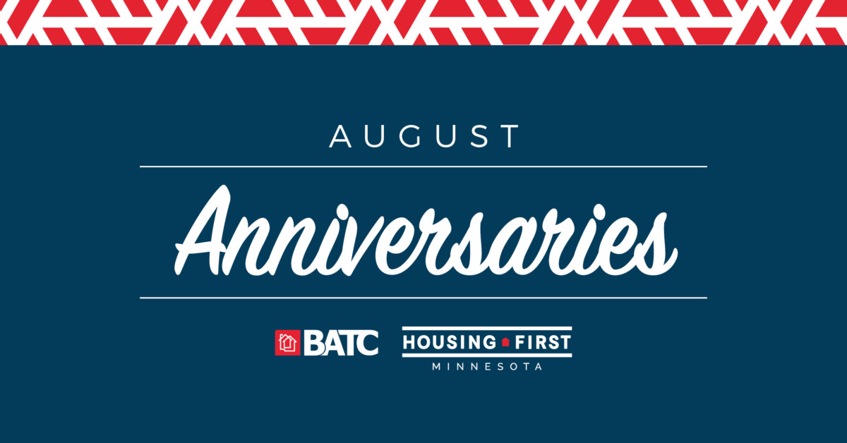 Membership Anniversaries | August