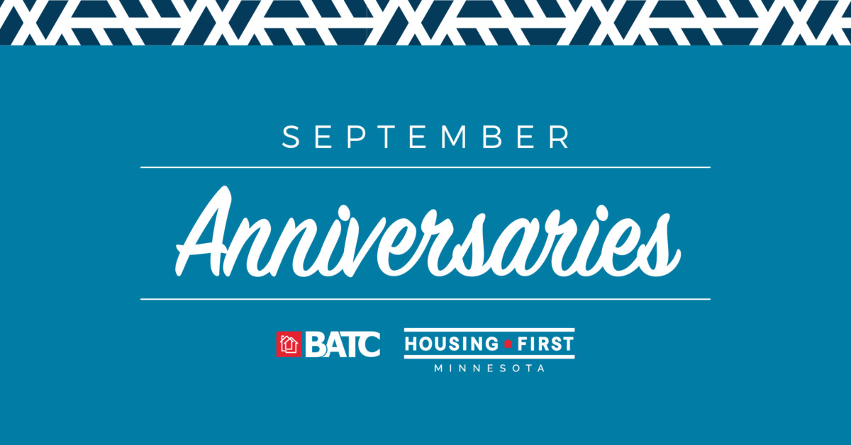 Membership Anniversaries | September