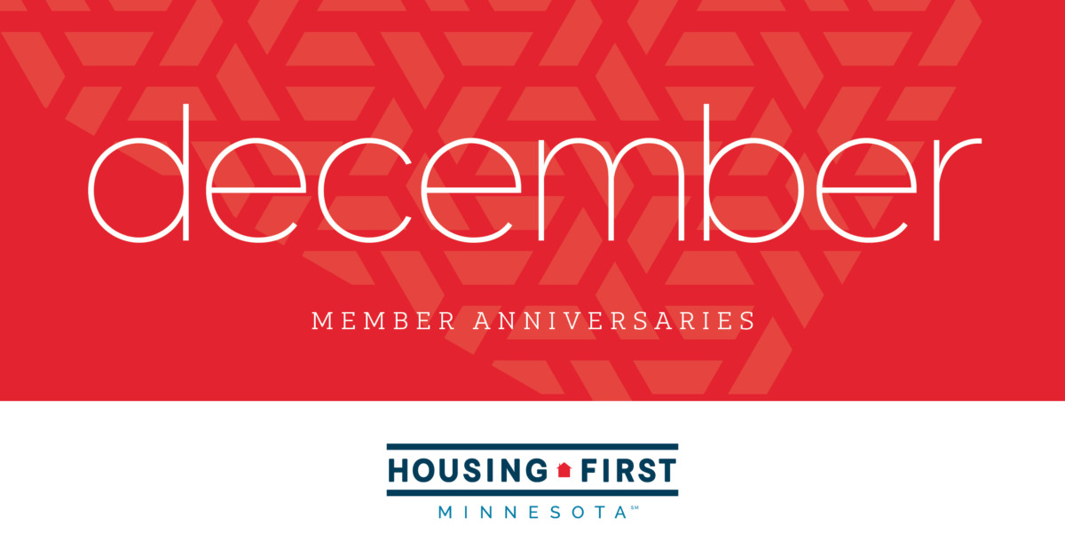 Membership Anniversaries | December