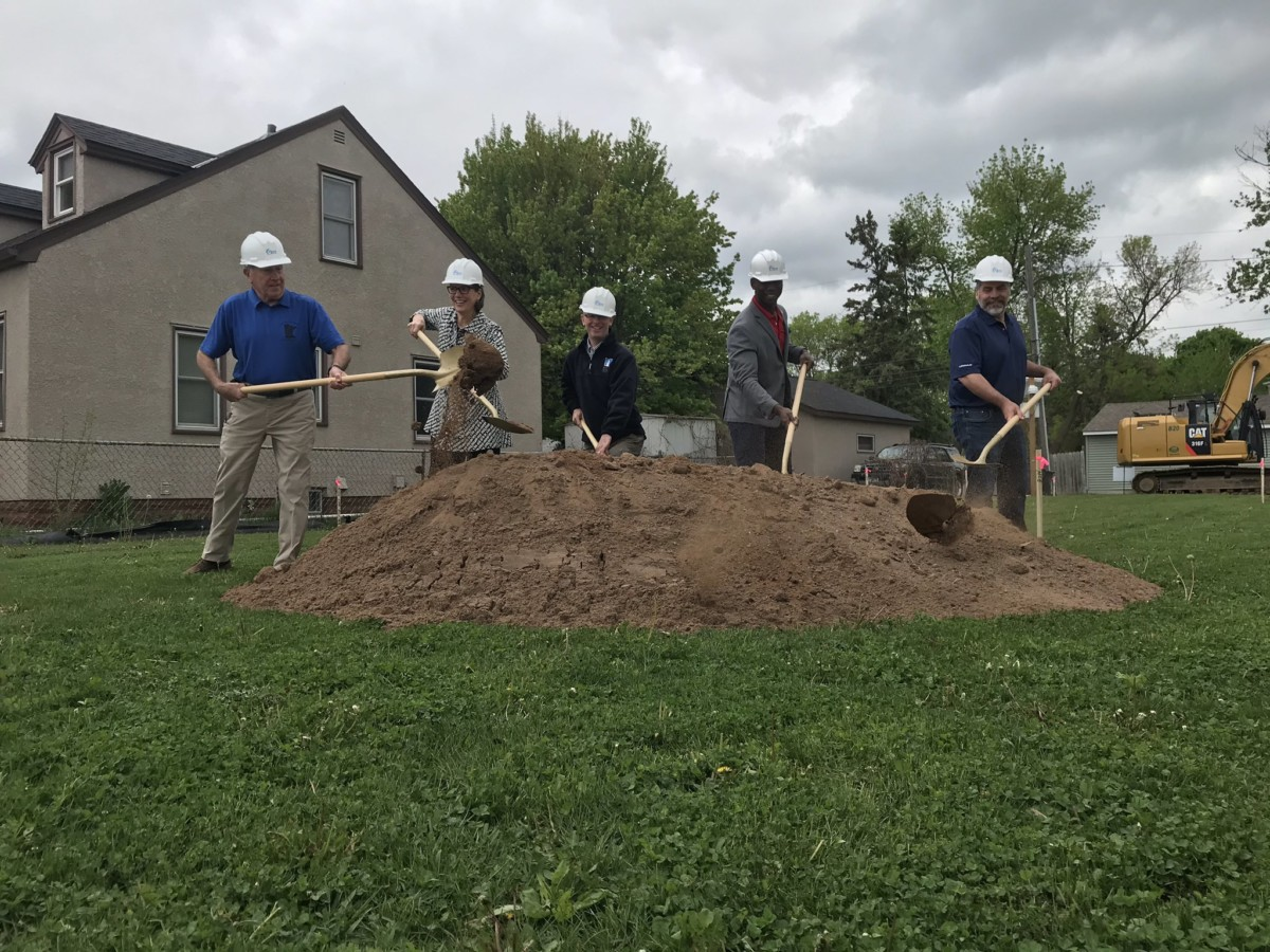 Groundbreaking Held for Housing Project for Veteran Families