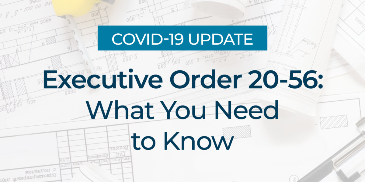 Executive Order 20-56: What You Need to Know