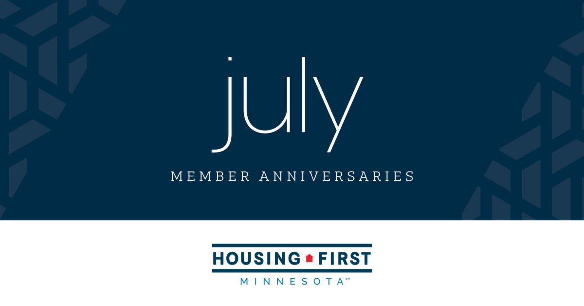 Membership Anniversaries | July 2020