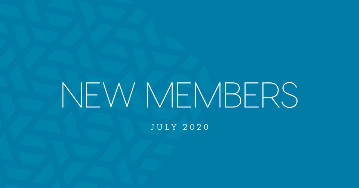 New Members | July 2020