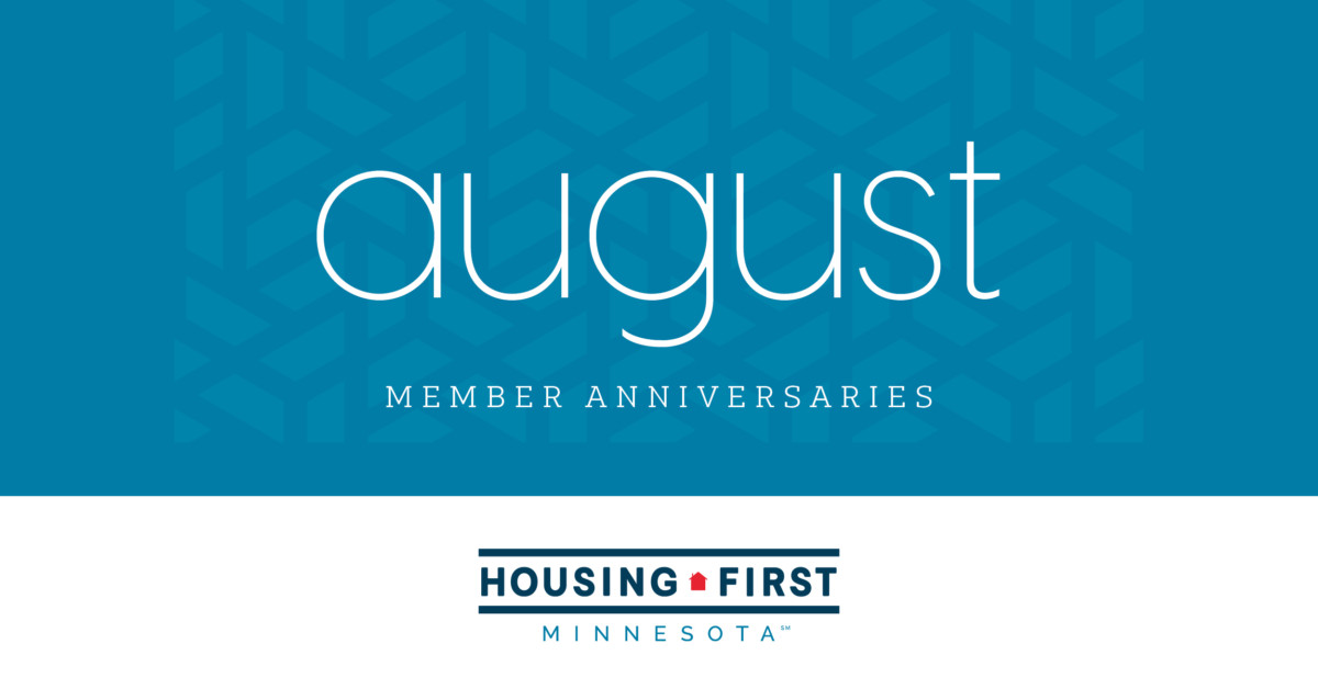 Membership Anniversaries | August 2020