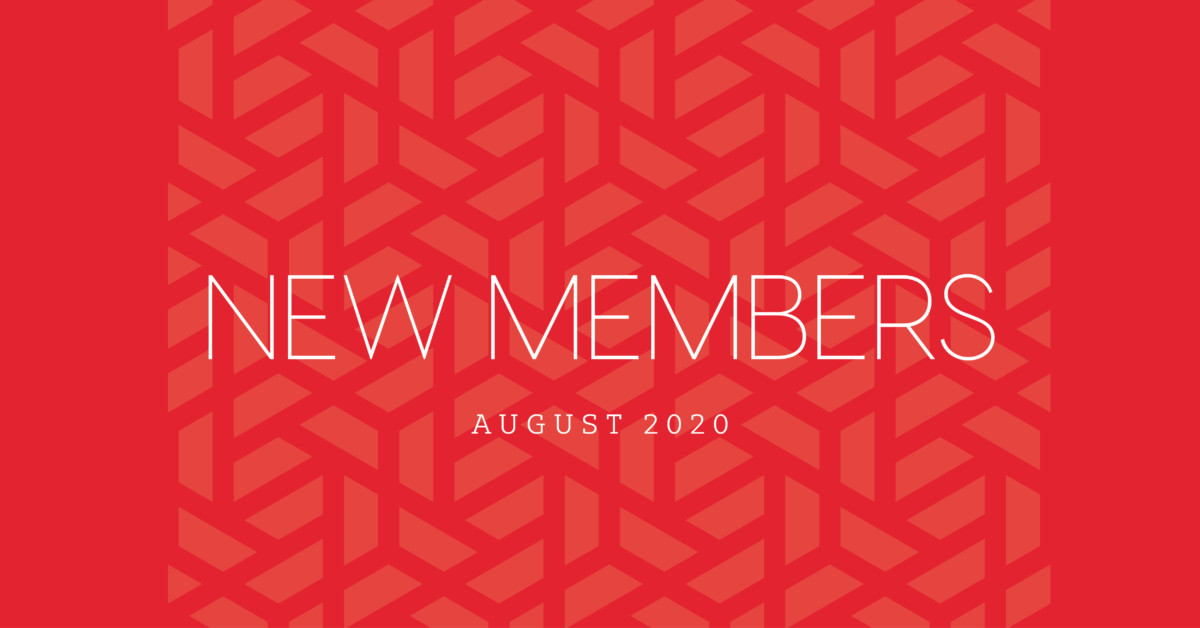 New Members | August 2020