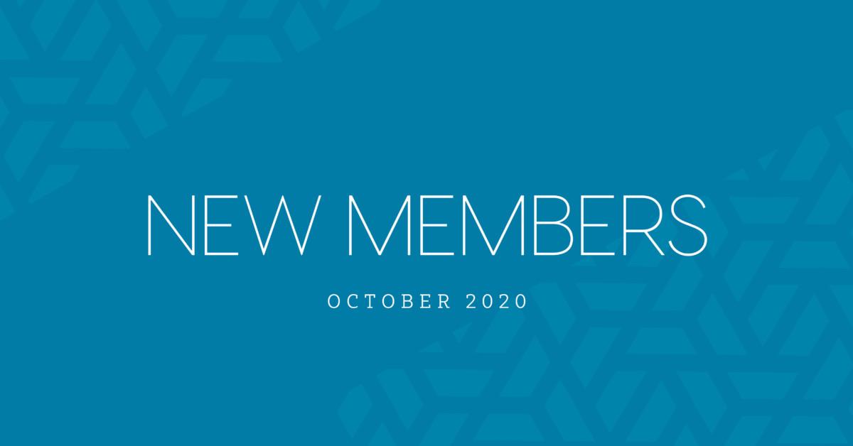 New Members | October 2020