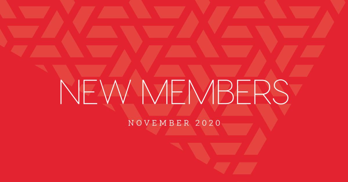 New Members | November 2020