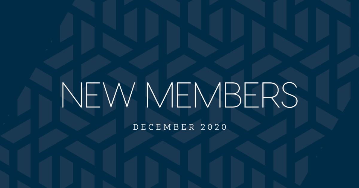 New Members | December 2020