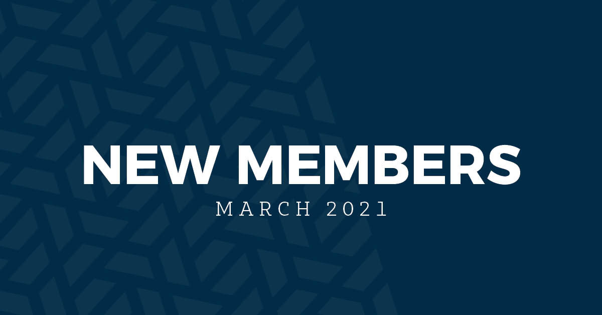 New Members | March 2021