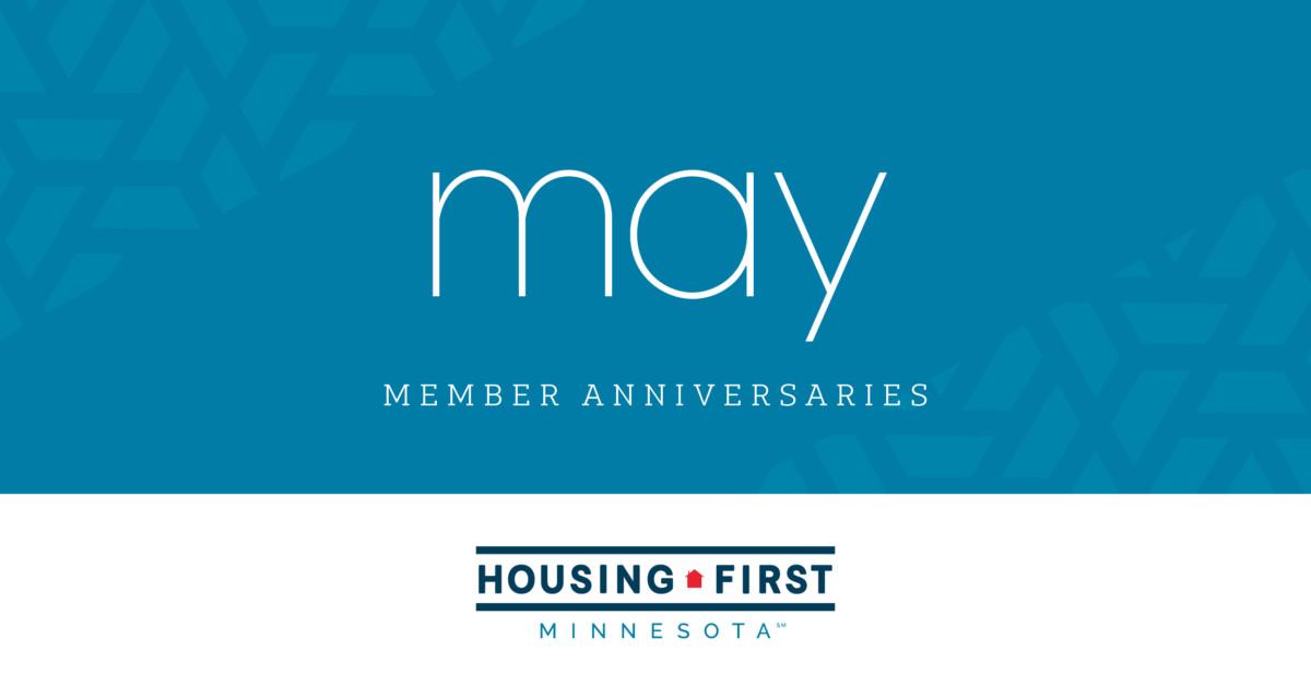 Membership Anniversaries | May 2021
