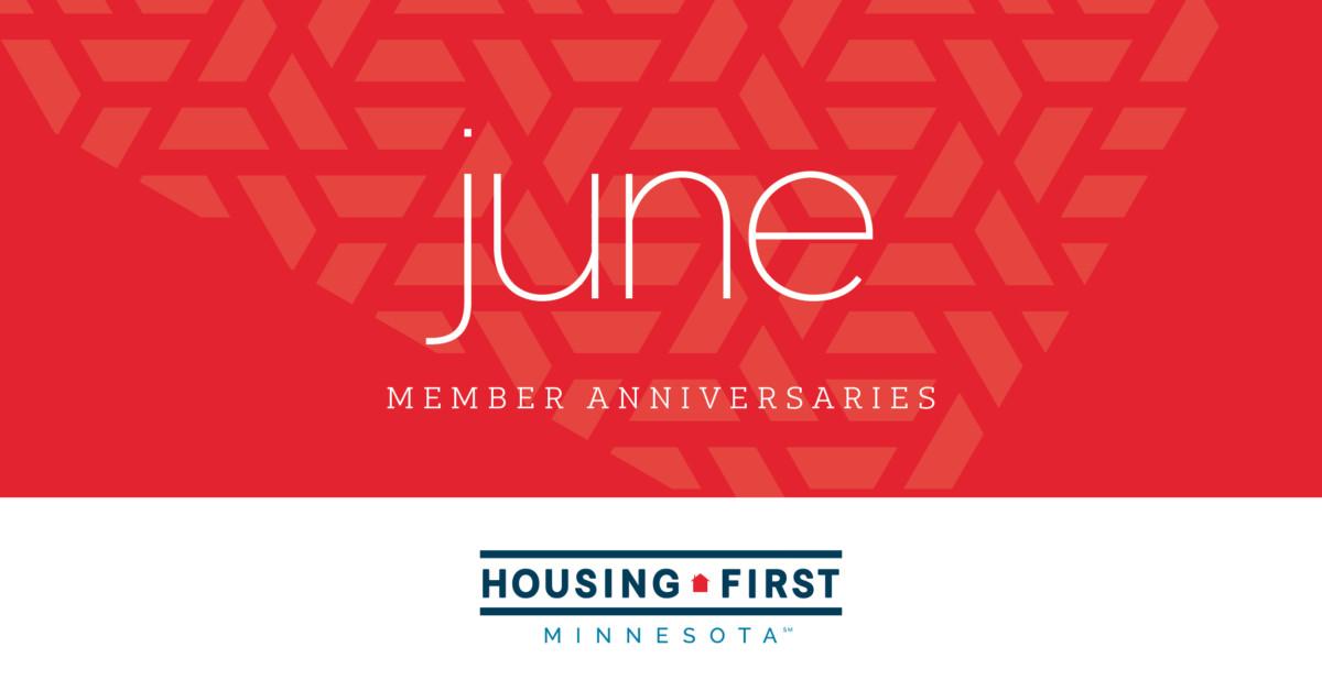 Membership Anniversaries | June 2021