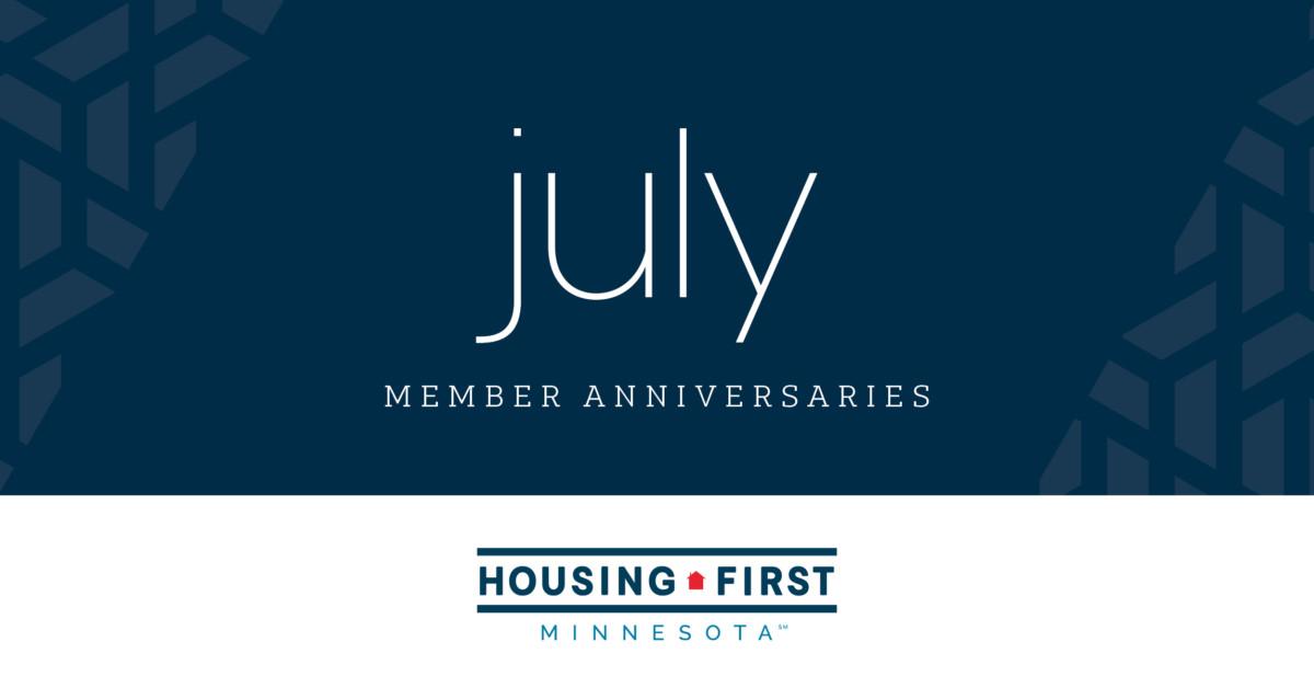 Membership Anniversaries | July 2021