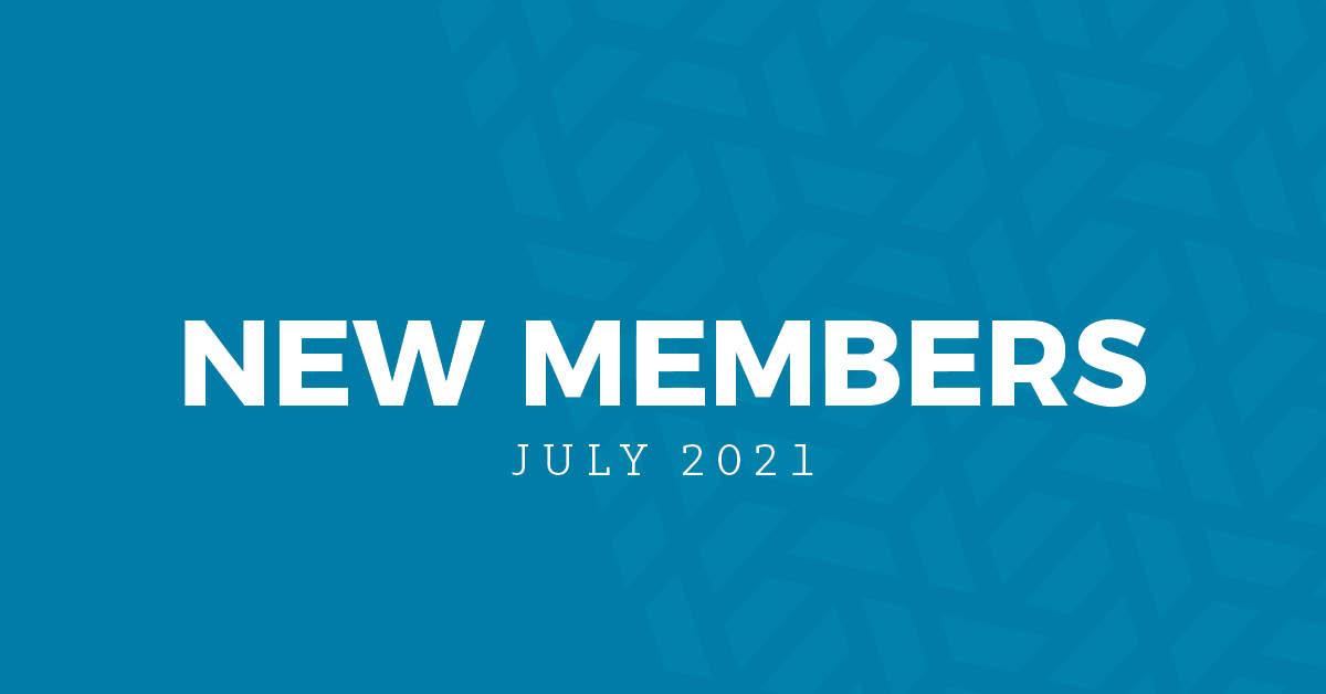 New Members | July 2021