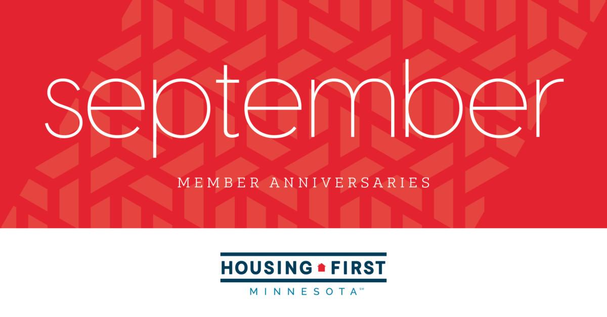 Membership Anniversaries | September 2021