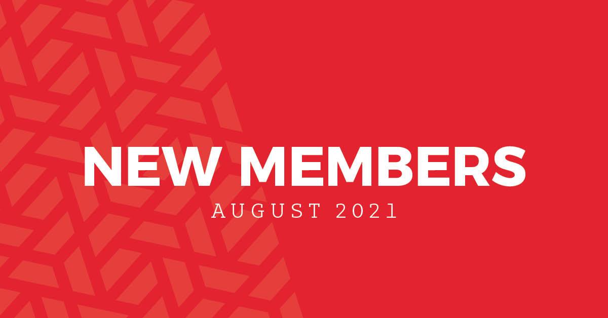 New Members | August 2021