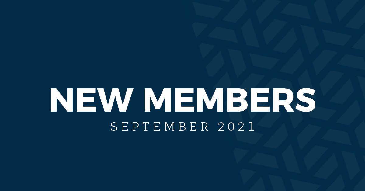New Members | September 2021